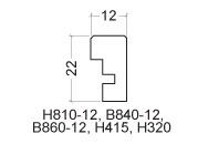 H810-profil